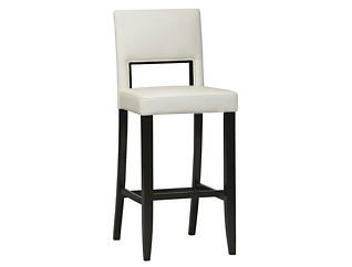 Vega White bar stool, , large
