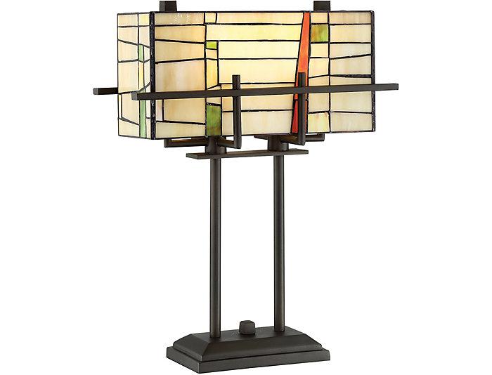 Fleur Bronze Table Lamp, , large