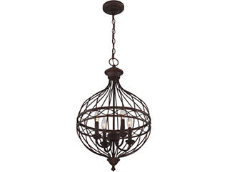 Elizabeth Bronze Chandelier, , large