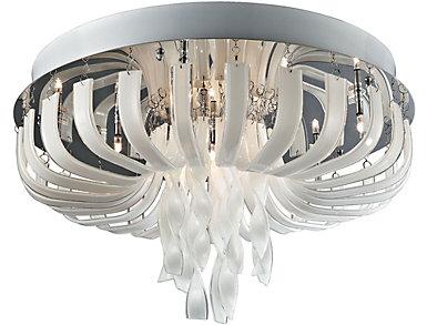 Ribbon Flush Mount Light, , large
