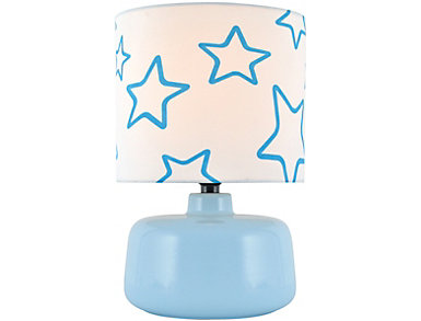 Twinkle Table Lamp, Blue, , large