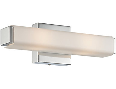 "Casey 15"" Chrome Wall Sconce, , large"