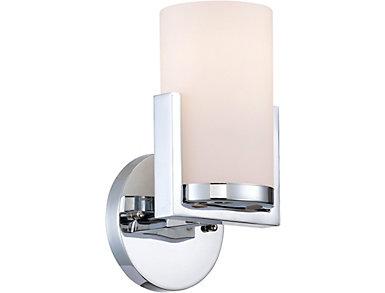 Tegan Chrome Wall Lamp, , large