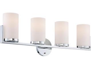 Tegan 4-Light Chrome Wall Lamp, , large