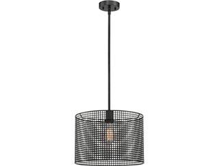 Hamilton Black Pendant Lamp, , large