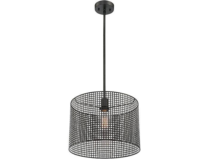 Keira Black Pendant Lamp, , large