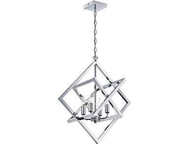 Isidro Chrome Pendant Lamp, , large