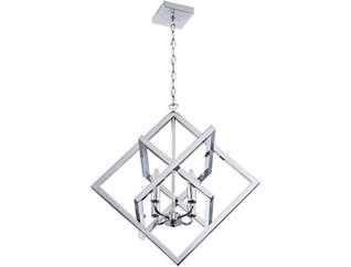 Isidro Chrome Pendant Lamp, , large