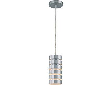 "Tendrill II 5"" Silver Pendant, , large"