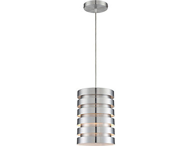Tendrill II Silver Pendant, , large