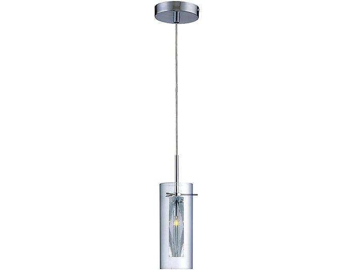 Clarte Chrome Pendant Lamp, , large