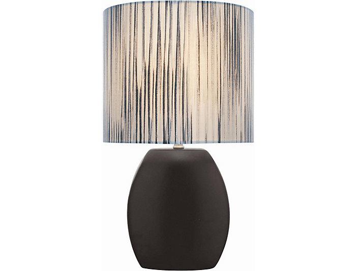 Bergamot Black Table Lamp, , large