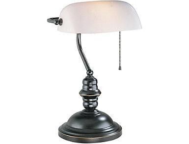 Bolero Dark Bronze Lamp, , large