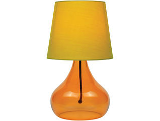 Geranium Orange Table Lamp, , large