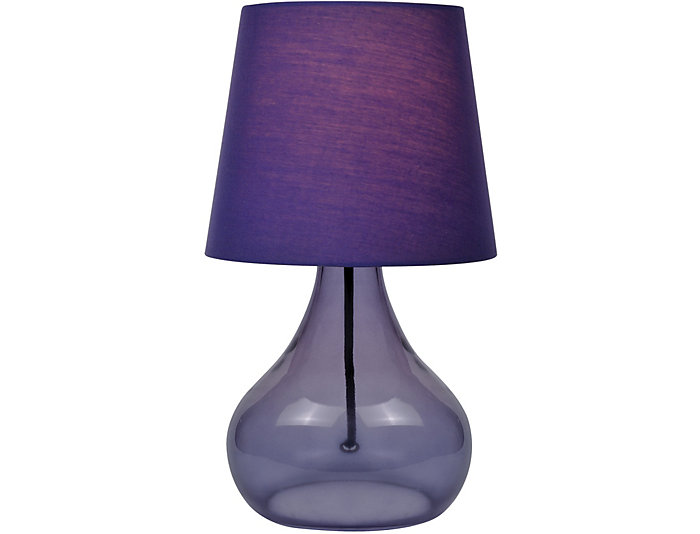 Geranium Purple Table Lamp, , large