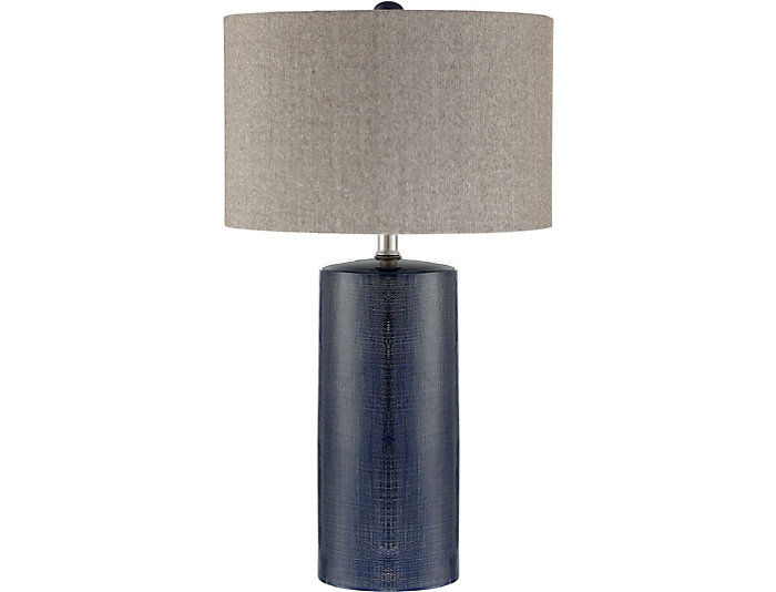 Mulberry Navy Table Lamp, , large