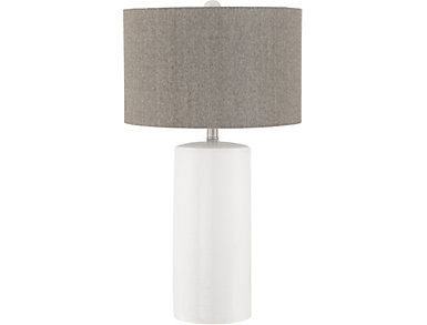 Mulberry White Table Lamp, , large