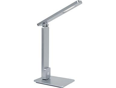 Echo LED USB Desk Lamp, Silver, , large