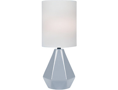 Mason Mini Table Lamp Grey, , large