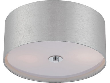 Silvain Chrome Flush Lamp, , large