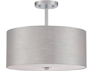 Silvain Chrome Pendant Lamp, , large