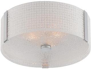 Maso Chrome Flush Lamp, , large