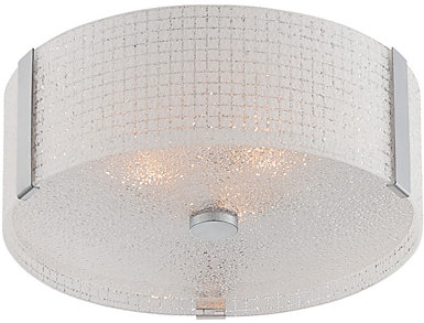 Maso Chrome Flush Lamp, , large