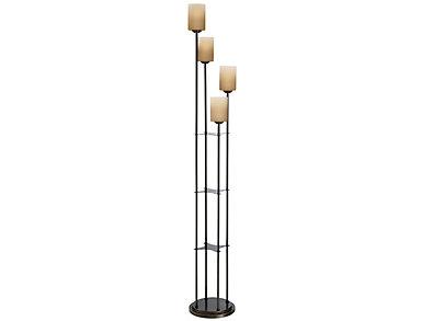 """Atticus 71"""" Dark Bronze Lamp, , large"""