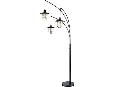 Cosmo 3-Arm Floor Lamp, , large