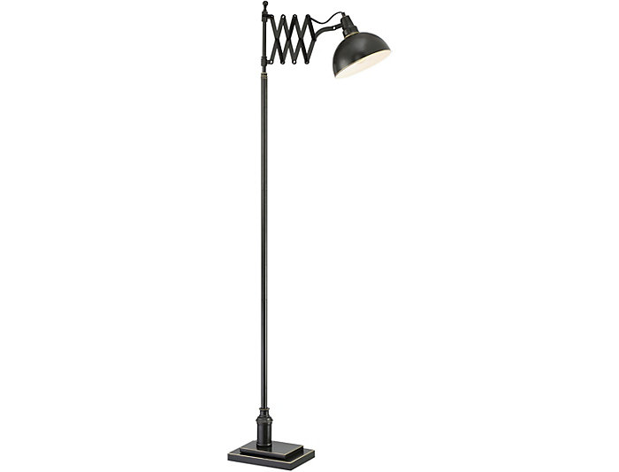 Lazaro Dark Bronze Floor Lamp, , large