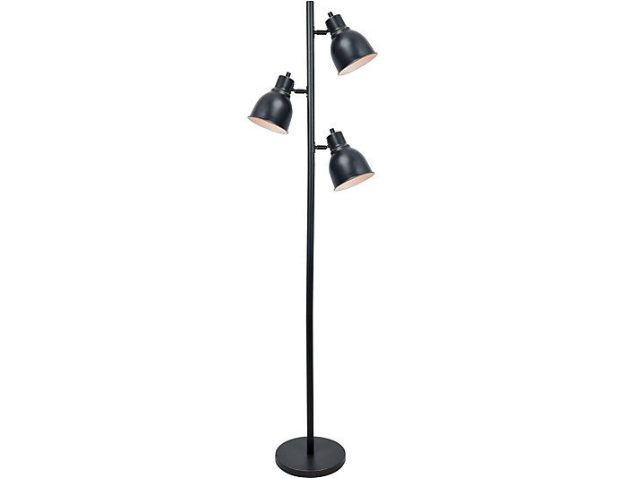 Baylor 3-Light Bronze Lamp, , large