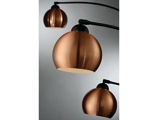 Wilhelmina Bronze Floor Lamp, , large