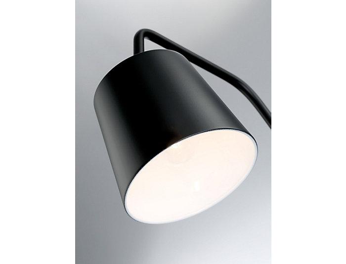 Sylvia Black Floor Lamp, , large