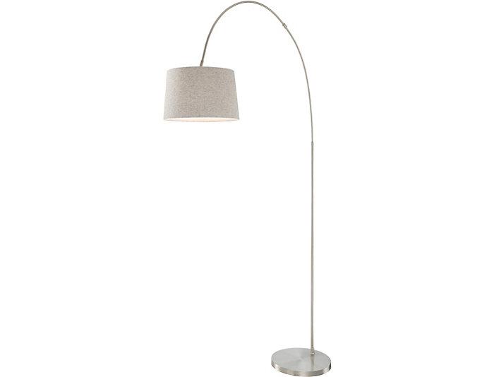 Cordelia Grey Floor Lamp, , large