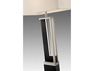 Theoris Floor Lamp with LED Night Light, , large