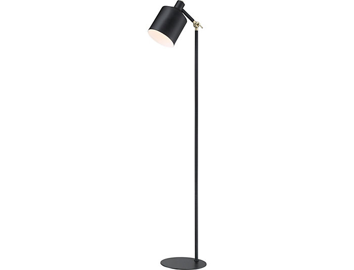 Dudley Black Floor Lamp, , large