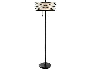 Lumiere Black Floor Lamp, , large