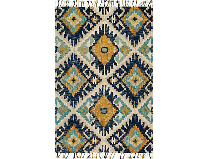 Brushstroke Multi 8x10 Rug, , large