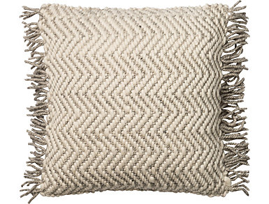 MH Grey & Ivory Accent Pillow, , large