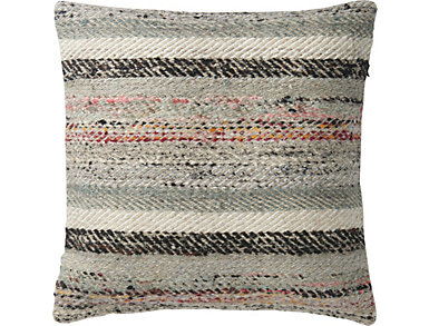MH Grey & Multi Accent Pillow, , large