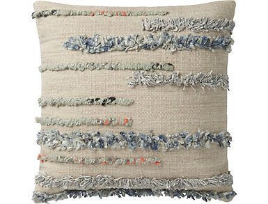 MH Beige & Multi Accent Pillow, , large