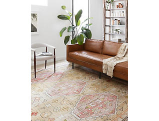 "Skye Gold/Blush 5' x 7'6"" Rug, , large"