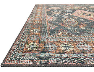 "Skye Sea/Rust 5' x 7'7"" Rugs, , large"