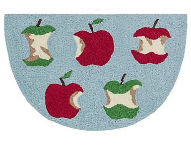 """Red/Green Apple Rug 1'9""""x2'9"""", , large"""