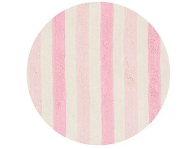 Pink/Multi Lola Shag Rug 3' RD, , large