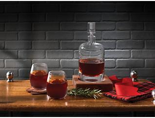 Whiskey Renfrew Decanter/Base, , large