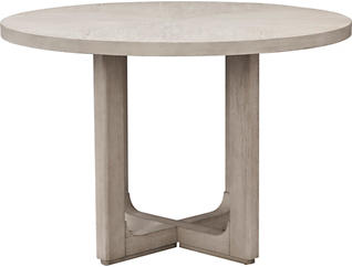 Posh Satin Silver Dining Table
