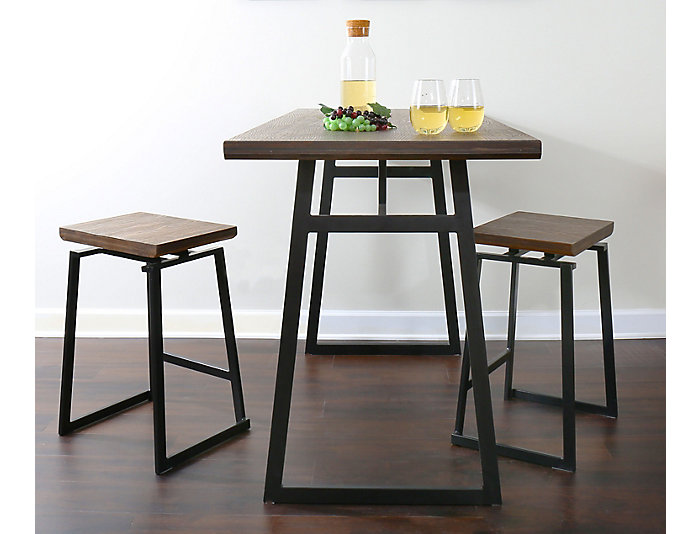 Art Van Dining Room Tables: Atlas Black 5-Piece Dining Set