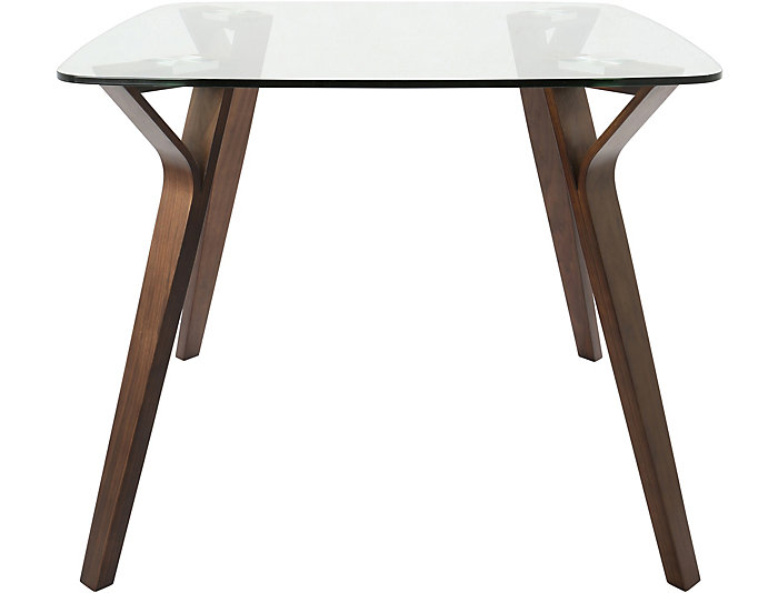 Torino Glass Top Dining Table, , large