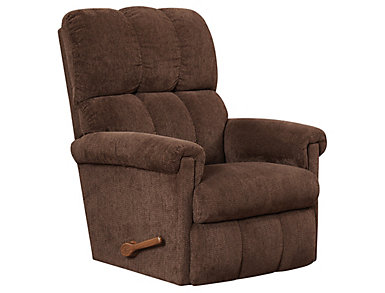 La-Z-Boy Vail Rocker Recliner, Brown, , large